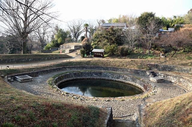 金山城の日ノ池