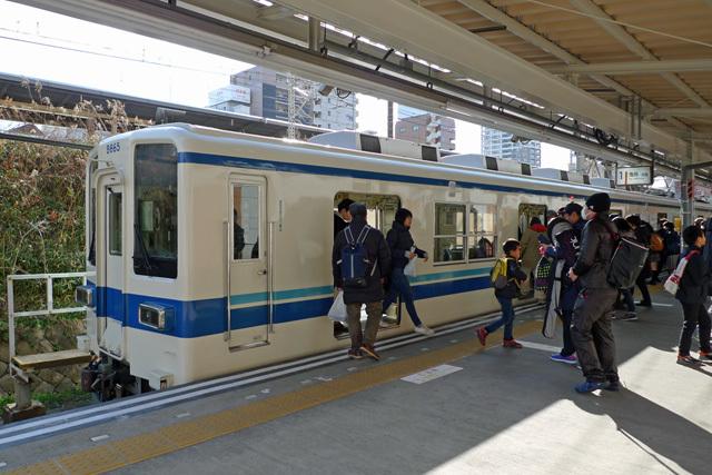 東武亀戸線@亀戸駅
