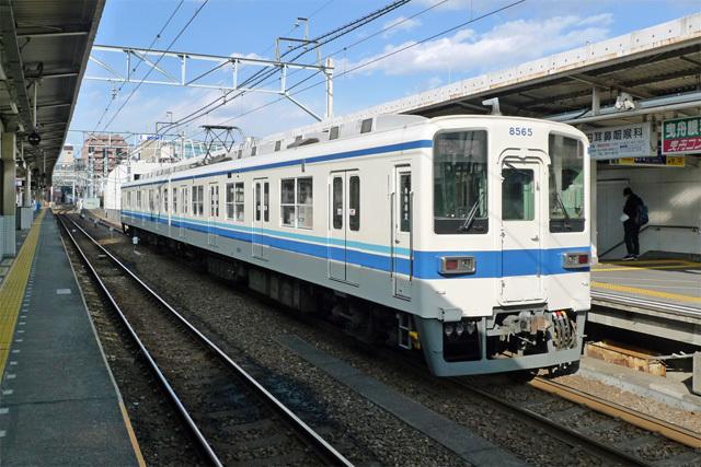 東武亀戸線@曳舟駅