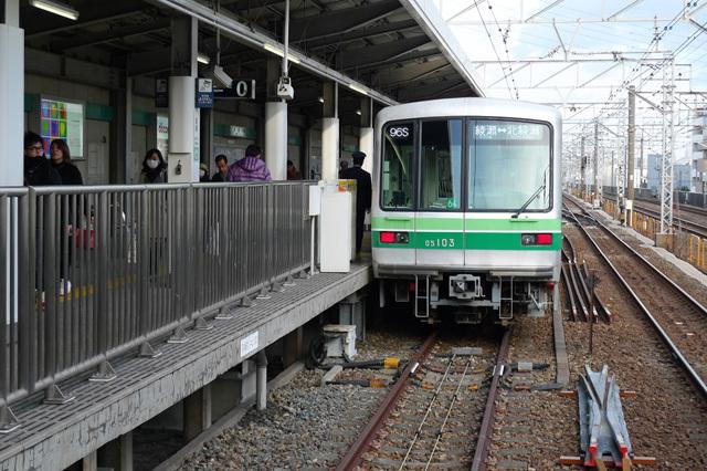 東京メトロ千代田支線@綾瀬駅