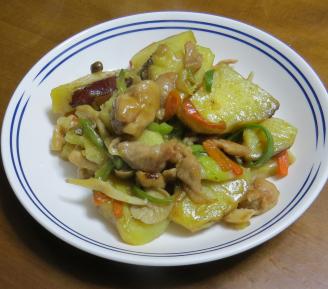 サツマイモ料理1