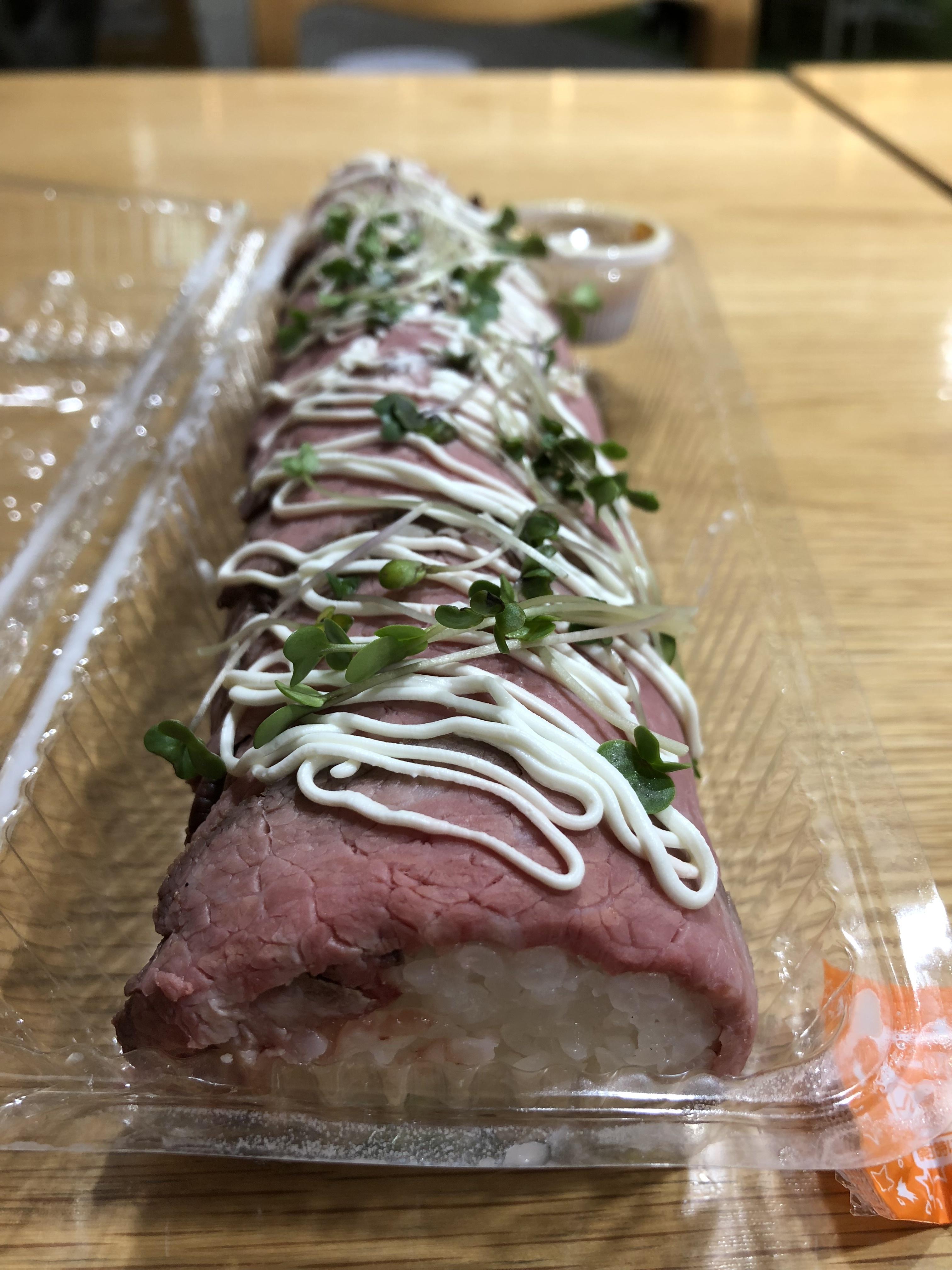 肉ロール寿司