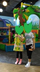 ダイソー膝サポーター4(6歳6ヵ月)