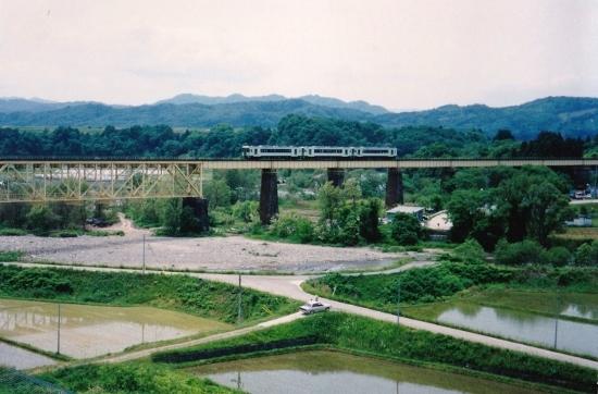 ⑬H11一ノ戸川橋梁