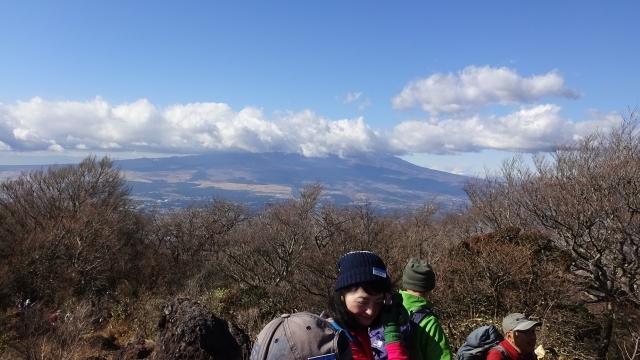 6-7金時山頂からの富士山