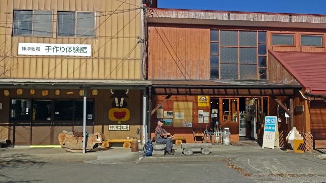 8神津牧場売店