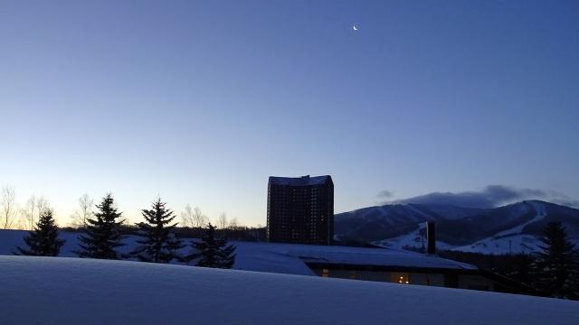 33ホテルからの早朝の景色