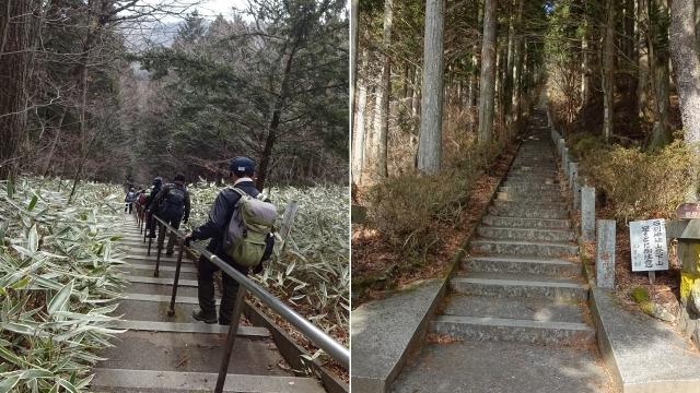 17約400段の石段