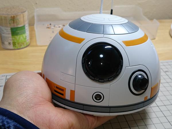 BB-8(2分の1scale)製作記10