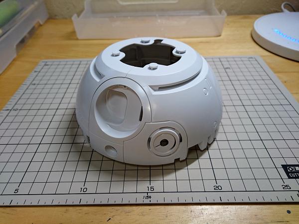 BB-8(2分の1scale)製作記02