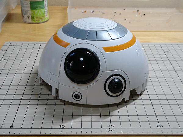 BB-8(2分の1scale)製作記04
