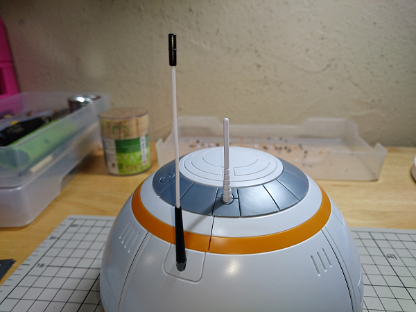 BB-8(2分の1scale)製作記08