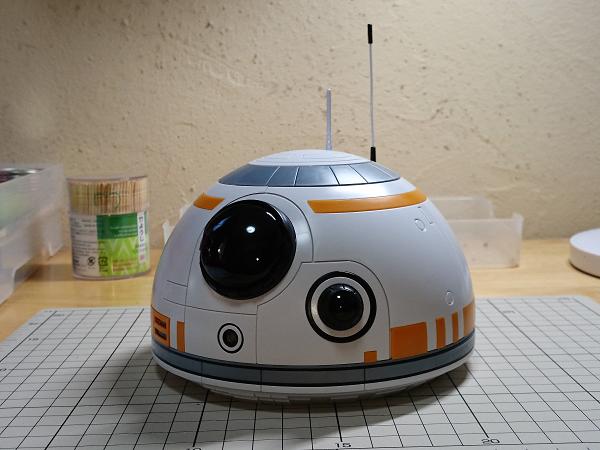 BB-8(2分の1scale)製作記09