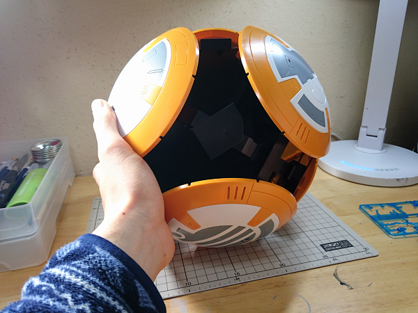 BB-8(2分の1scale)製作記23
