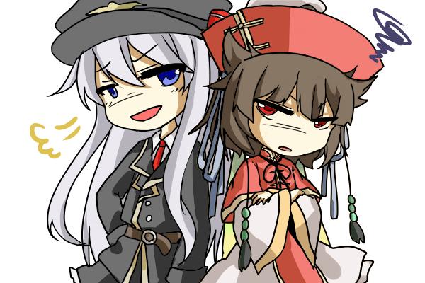 零さんと朱凰さん
