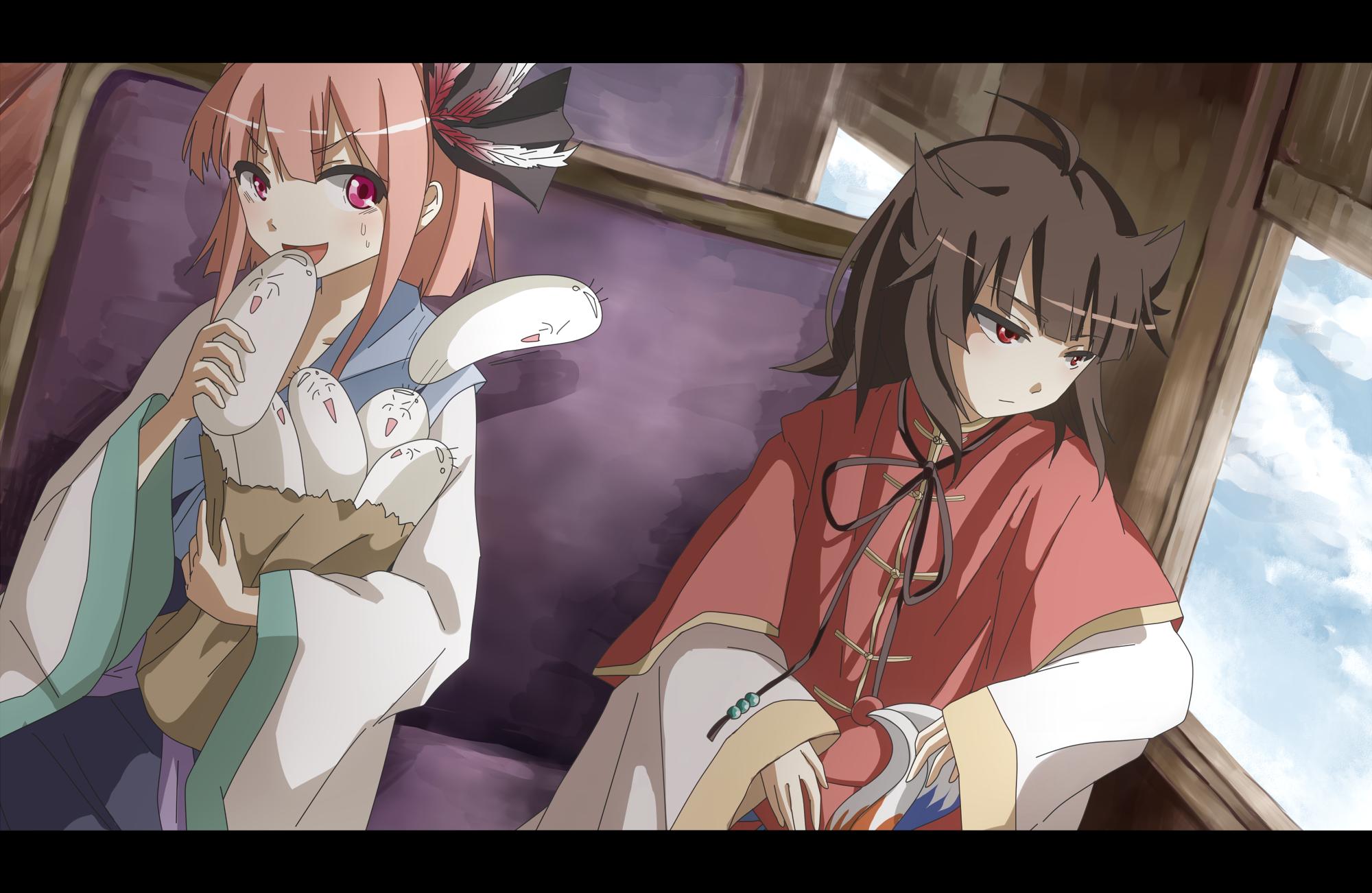 清瑠さんと朱凰さん
