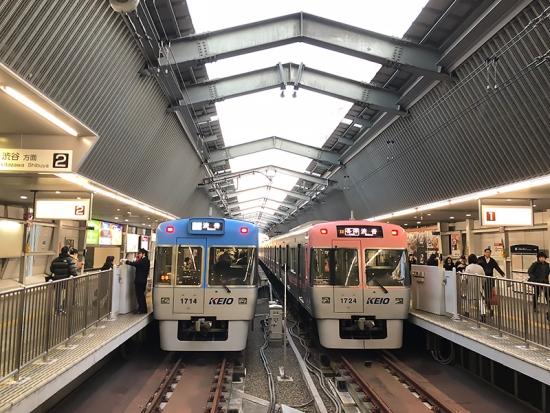 171221_05吉祥寺駅ホーム