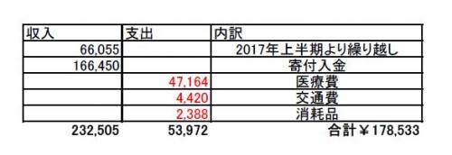 2017年下半期会計報告用