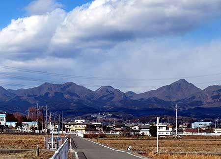 112今日の榛名山