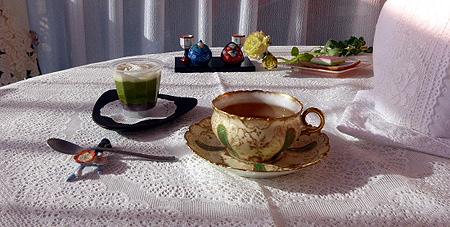 24 抹茶ババロア1