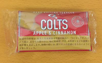 COLTS APPLE & CINNAMON コルツ・アップル&シナモン コルツ COLTS フレーバーシャグ 手巻きタバコ RYO アップルフレーバー