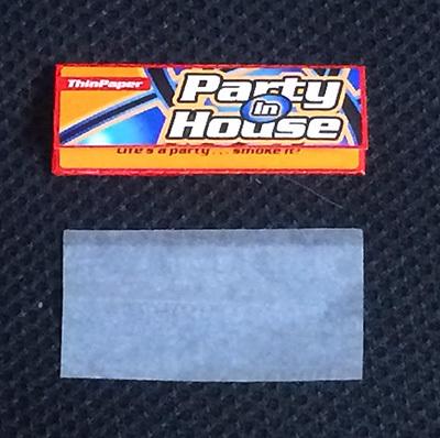 party-in-house パーティ・イン・ハウス 手巻きタバコ 巻紙 ローリングペーパー スローバーニング RYO