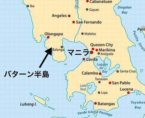 フィリピン_バターン半島地図(470x384)