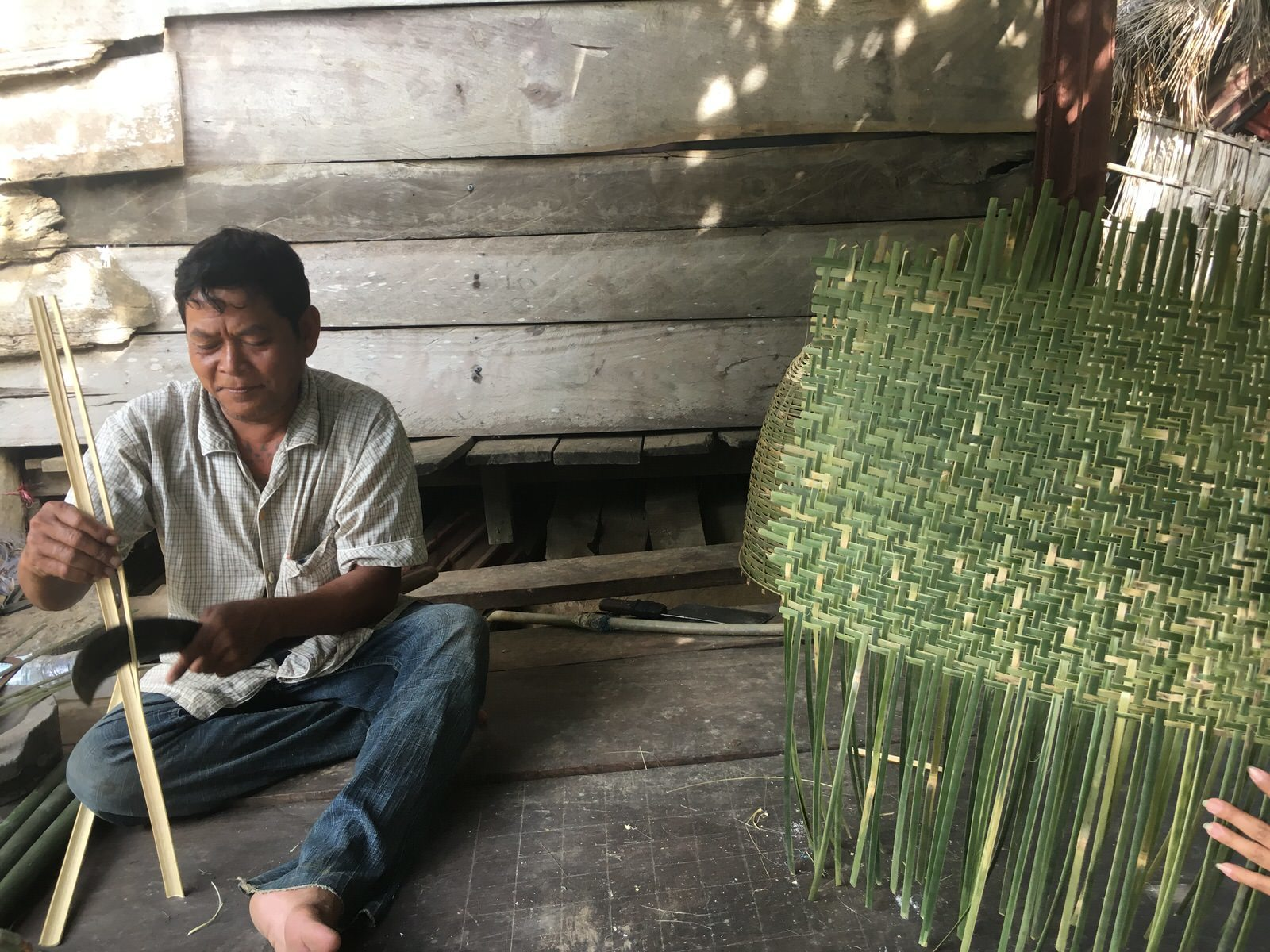 伝統工芸の竹細工