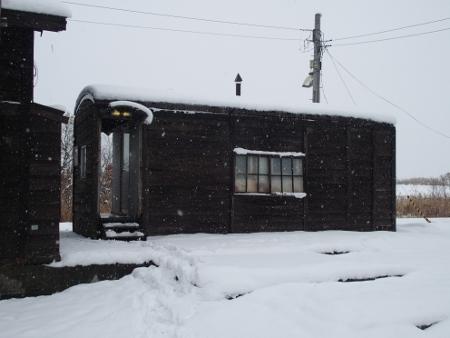 恵比島駅 駅舎