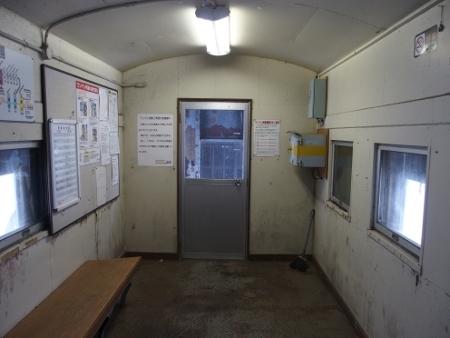 恵比島駅 駅舎内部
