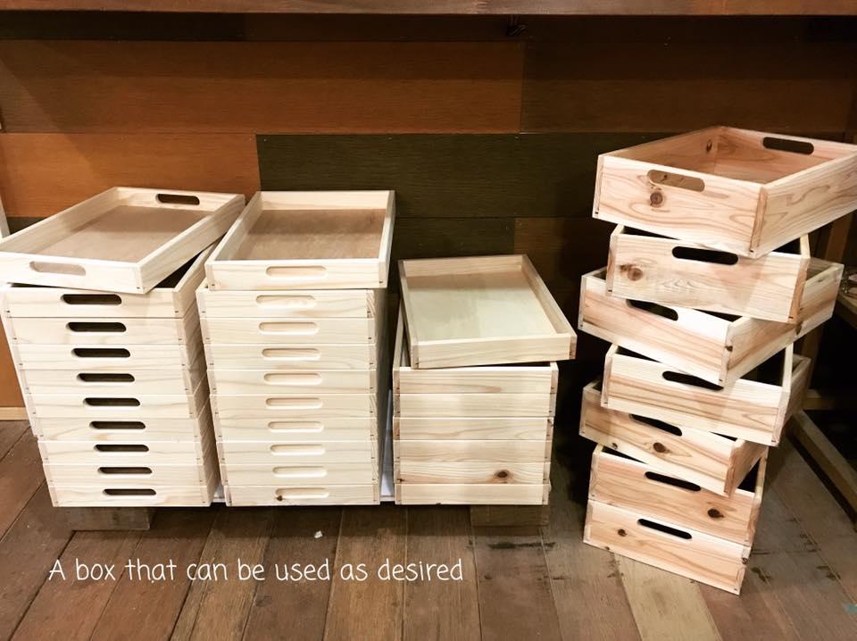 木箱が沢山1