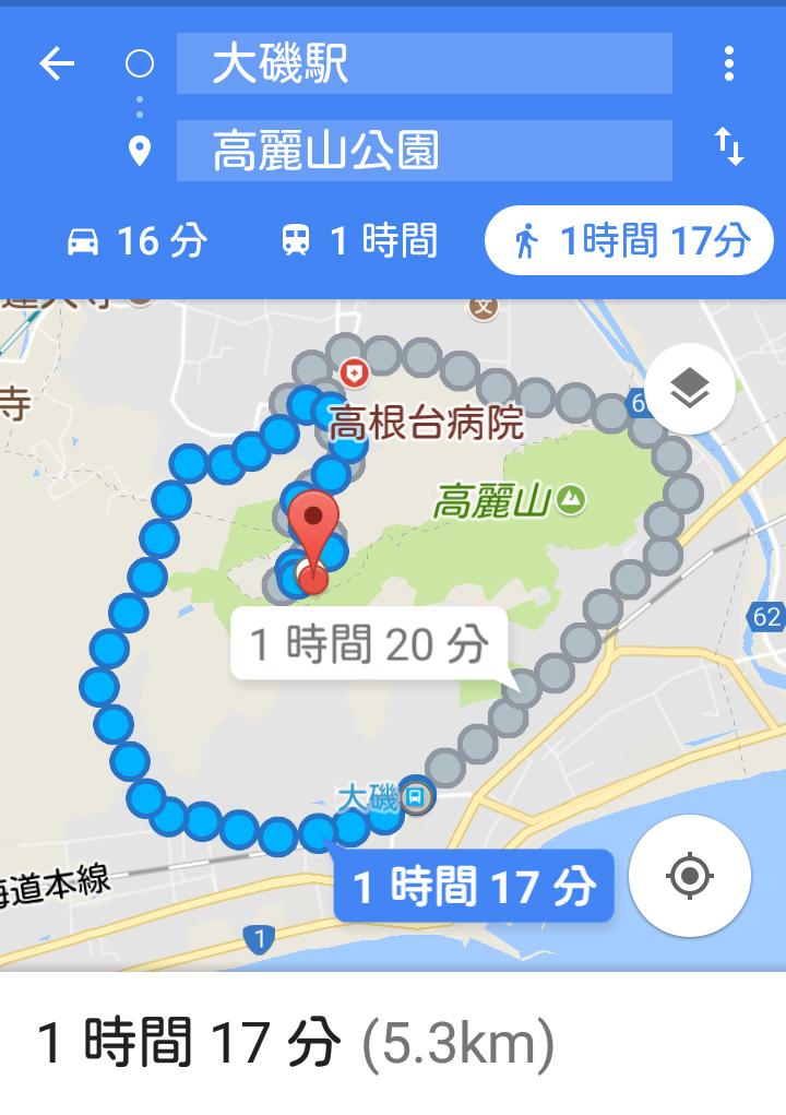 Googleルート