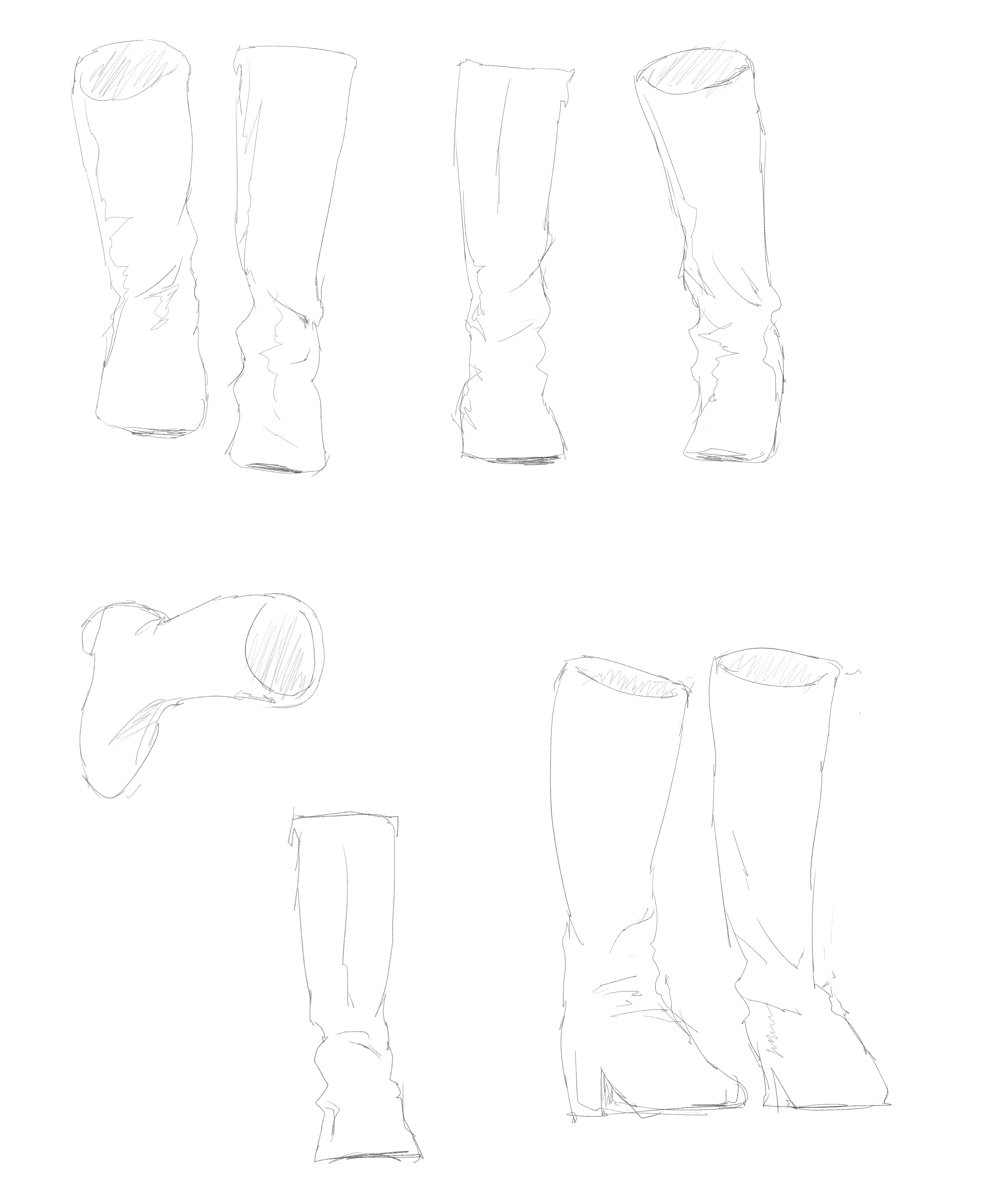 アイドルマスターのライブを描く スケッチ 7thライブの仁後真耶子の衣装