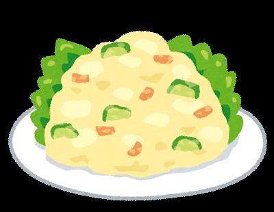 フード、ポテトサラダ