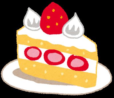 スイーツ、ショートケーキ、イチゴ