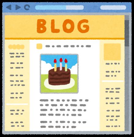 ウェブサイト、ブログ