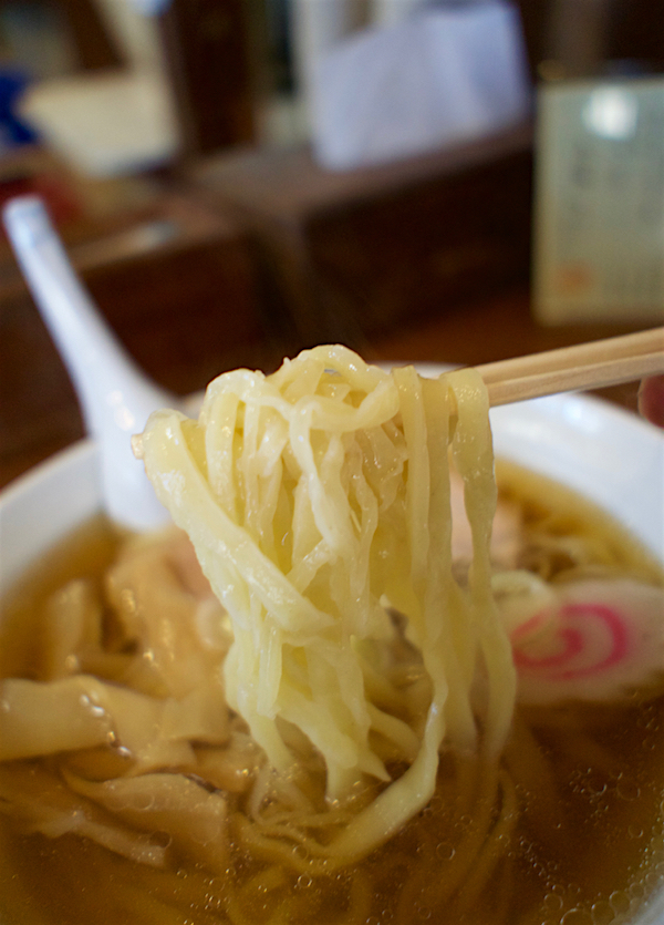 佐野青竹麺ゆうじ@佐野市堀切町 麺