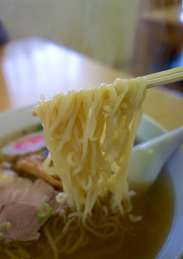 ラーメンたかせ@小山市若木町 麺
