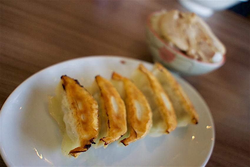 麺や本郷@小山市本郷町 餃子+ライス
