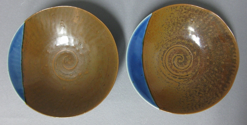 瑠璃銹釉 碗