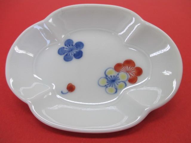 ⑦梅 豆皿