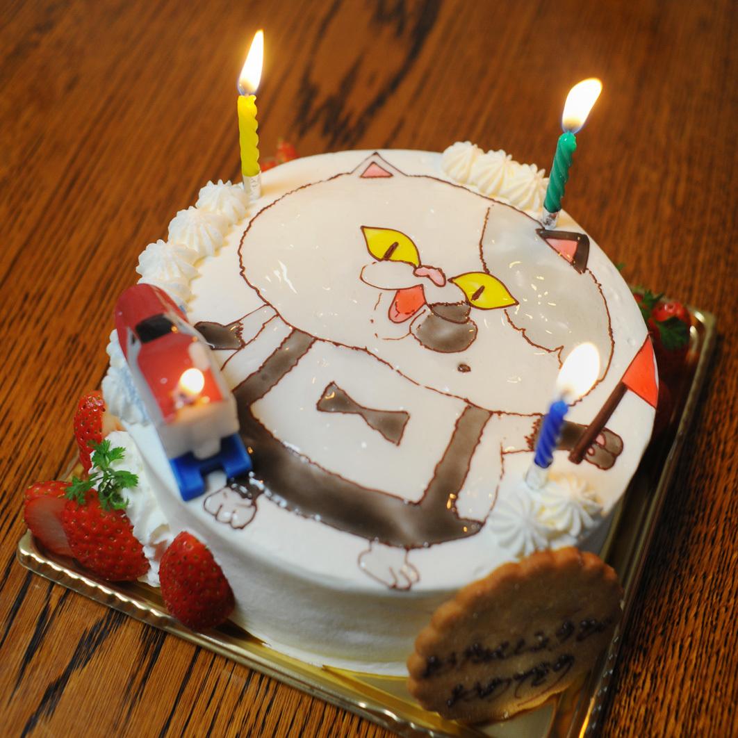 ジャッジくんケーキ