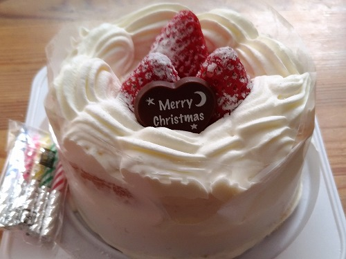 500少し早めのクリスマスケーキと少し遅めの成道会