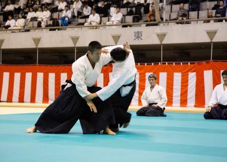 Tokyo Aikido Demonstration 2017 Fujimaki