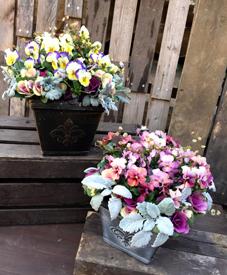 お花いっぱいのギャザリング