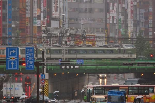 2017年10月21日 JR東日本中央本線 大久保~新宿 189系N102編成