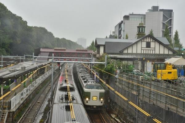 2017年10月21日 JR東日本山手貨物線 原宿 189系N102編成