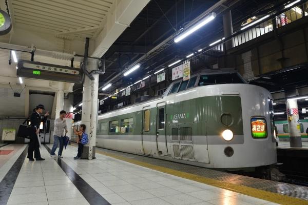 2017年10月21日 JR東日本東北本線 上野 189系N102編成