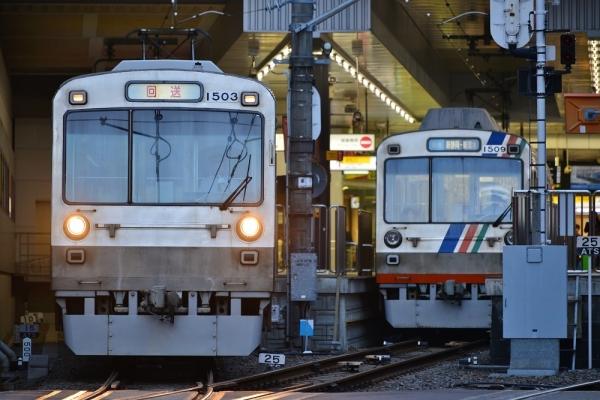 2017年11月10日 静岡鉄道静岡清水線 新静岡 1000形1003-1503/1009-1509