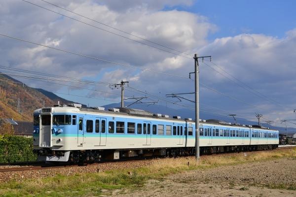 2017年11月15日 しなの鉄道線 西上田~テクノ坂城 115系S15編成